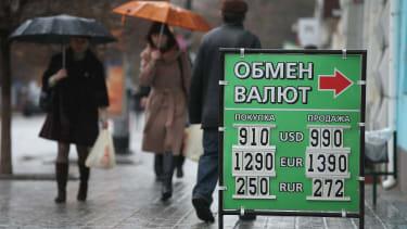 Russia's economy slides into crisis