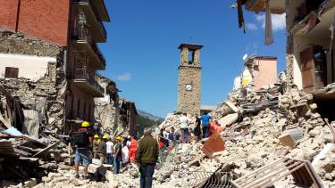 An earthquake.
