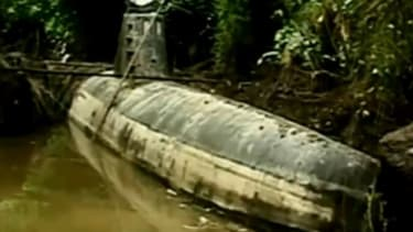 The submarine can reportedly transport about 8 tons of drugs and four people, though it was found before its maiden voyage.