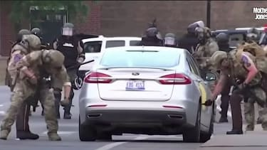 Minnesota police knife car tires