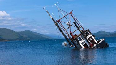 South Korean boat sinks, killing 1 with dozens missing
