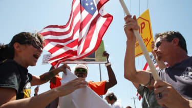 Border rally