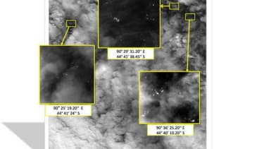 New satellite images show 122 'possible objects' related to vanished plane