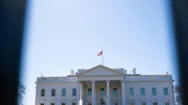 White House exterior.