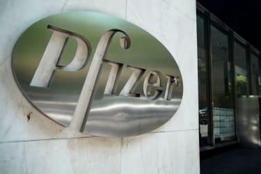Pfizer headquarters.