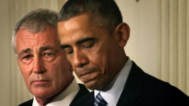 Obama on Chuck Hagel departure: This was his decision