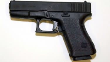 Jared Loughner allegedly wielded a Glock 19 9mm semi-automatic hand gun (similar to the weapon pictured here). The magazine it uses would have been illegal under an assault weapons ban that e
