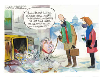 Political Cartoon U.S. lindsey graham