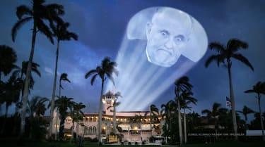 Trump sends up the Rudy Signal