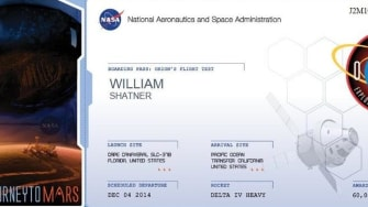 Give NASA your name to be part of space history