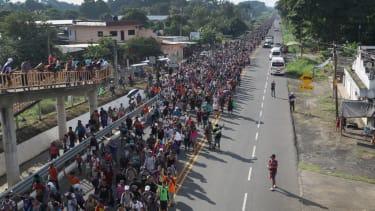 Migrant caravan.