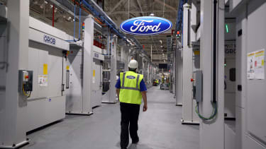 A Ford factory