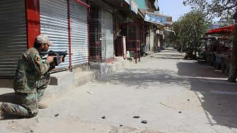Afghan commando in Kunduz