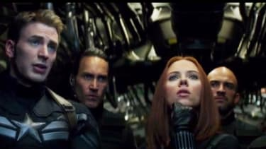 Watch a 4-minute preview of Captain America: The Winter Solider
