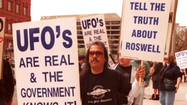 Americans want to know the truth about aliens.