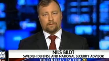 A man claiming to be Nils Bildt