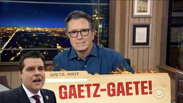 Stephen Colbert on Matt Gaetz