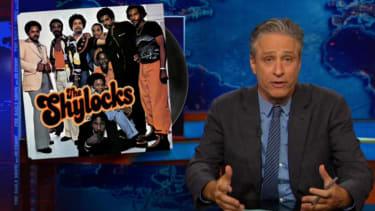 Jon Stewart gets lazy, roasts Joe Biden (plus Shakespeare and Michael Che)
