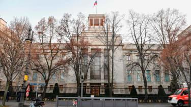 The Russian Embassy in Berlin.