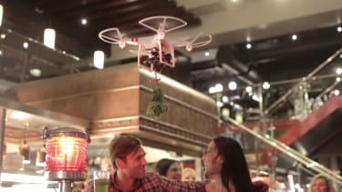 Get ready for 'mistletoe drones' at TGI Friday's this holiday season