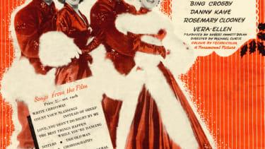 A vintage program for Irving Berlin's White Christmas