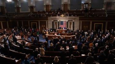 The House floor.