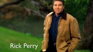 Presidential hopeful Rick Perry
