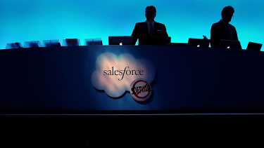 Salesforce accused of profiting from sex trafficking