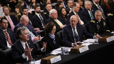 U.S. intelligence chiefs testify before the Senate