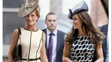 Newsweek resurrects the former princess for a cover image that situates Diana next to current Princess Catherine.