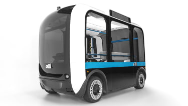 Olli, a self-driving bus for people with disabilities.