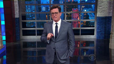 Stephen Colbert talks Trump and national monuments