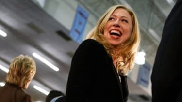 Clinton might tie the knot sometime in July.