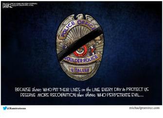 Editorial Cartoon U.S. eric talley boulder shooting