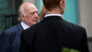 Fox News chairman Roger Ailes leaves his office