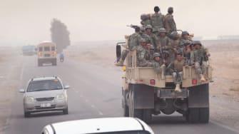 Afghan troops.