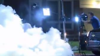 Watch Ferguson police tear gas a news crew and shut down their camera