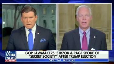 """Republicans talk up a """"secret society"""" at the FBI"""