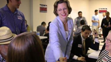 Poll: Democrat Michelle Nunn leads Georgia Senate race