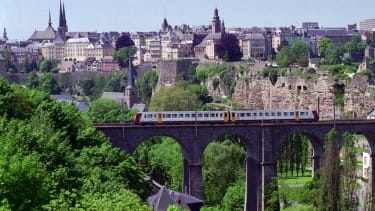 A file photo of Luxembourg City.