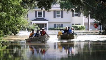 Houston after Hurricane Harvey.