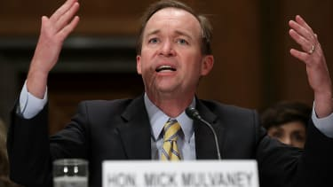 Office of Management and Budget Director Mick Mulvaney.
