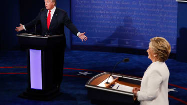 Donald Trump says he respects women, and audience laughs