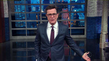 Stephen Colbert weighs the incompetence of Trump vs Democrats in Congress