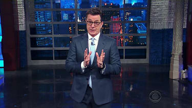 Stephen Colbert talks about White House paranoia