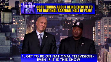 Letterman remembers baseball great Tony Gwynn by reprising his Top Ten countdown