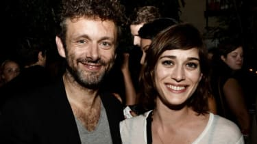 Michael Sheen and Lizzy Kaplan