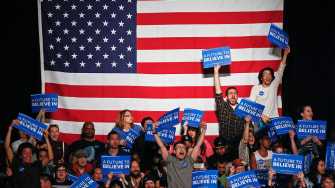 Bernie Sanders' supporters are counting on the FBI.