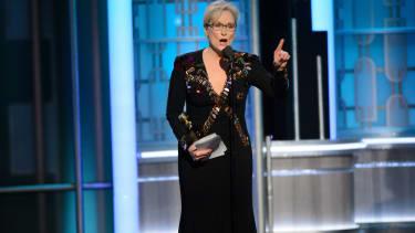 Meryl Streep alienated half of the American population.
