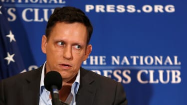 Is Peter Thiel playing games?